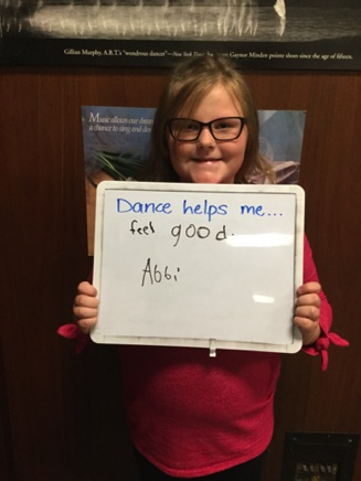 """...feel good."" -Abbi"