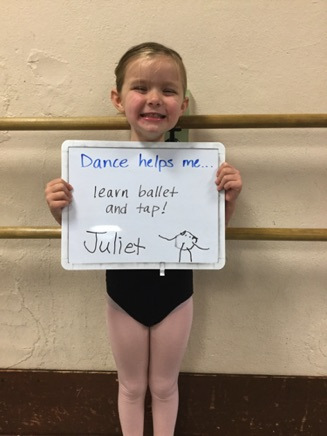 """...learn ballet and tap!"" -Juliet"