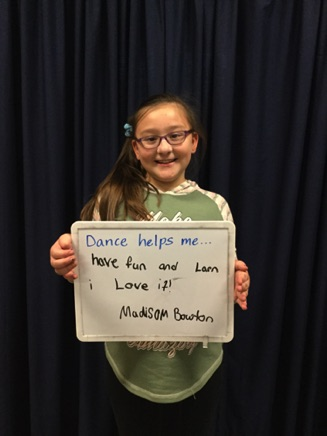 """...have fun and learn. I love it!"" -Madison"