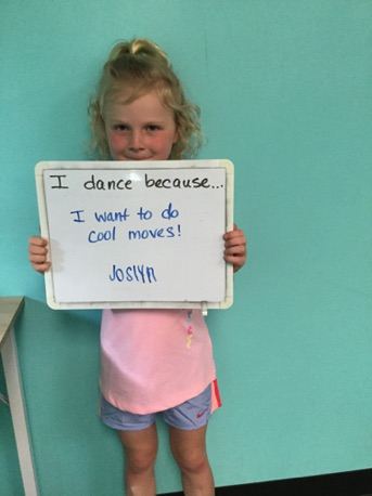 """...I want to do cool moves!"" -Joslyn"